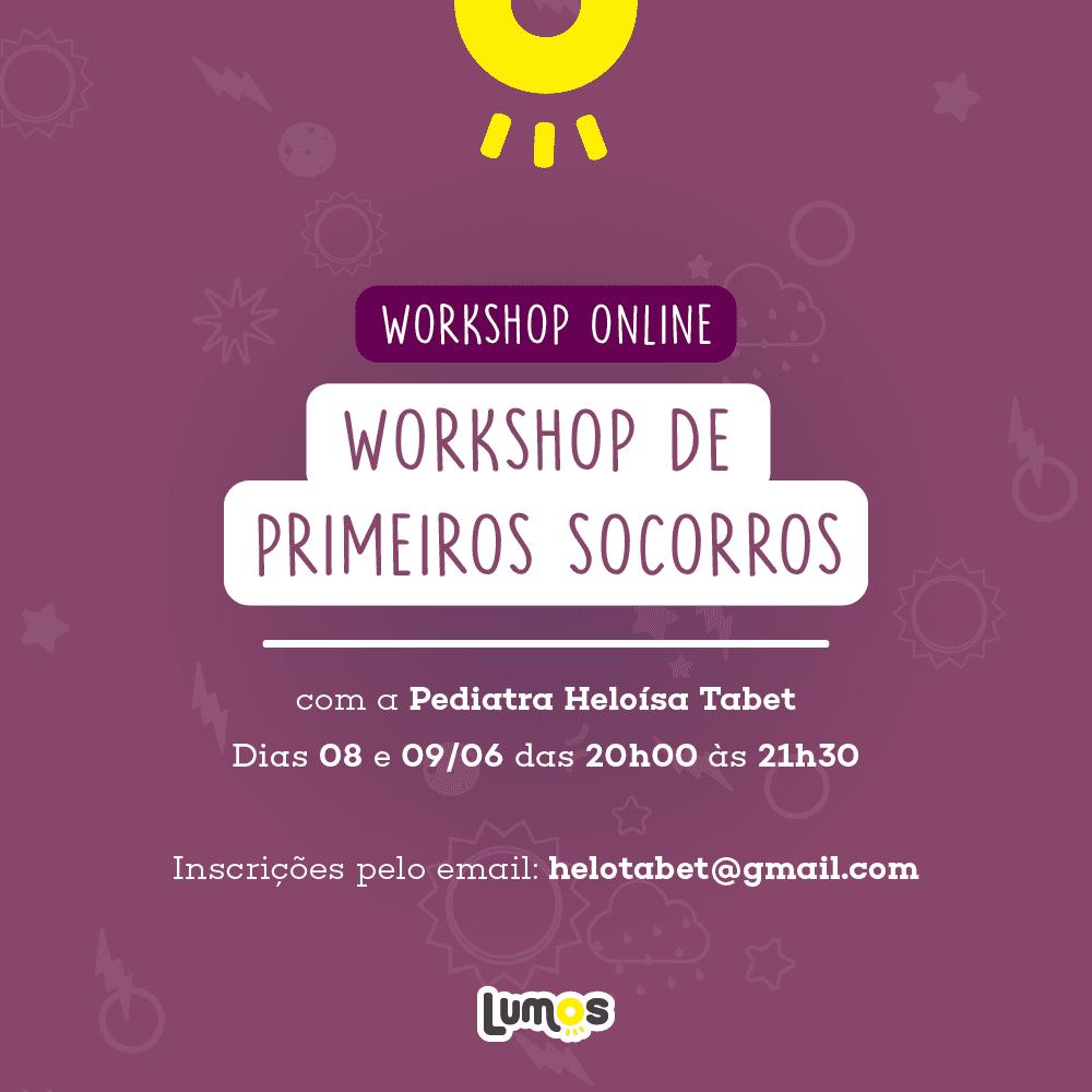 Workshop de Primeiros Socorros Online
